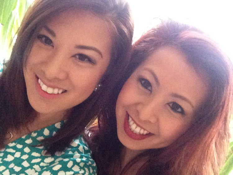 Merry Christmas from the Tran sisters!