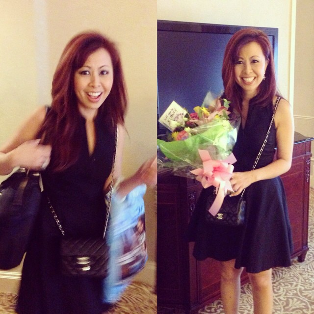 """Surprised her with flowers and asked her to be my Maid of Honor. She gladly said, """"Yes!"""""""